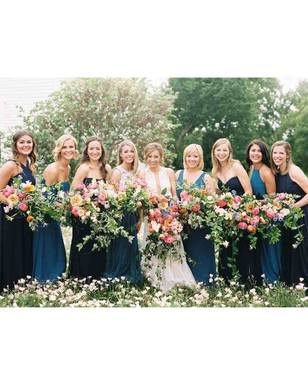 ashley adam wedding texas bridesmaids