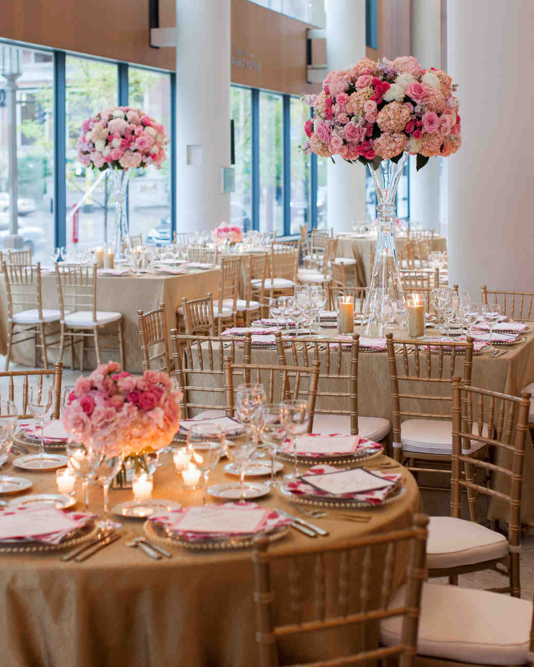 Tall Centerpieces That Will Take Your Reception Tables To New Heights Martha Weddings