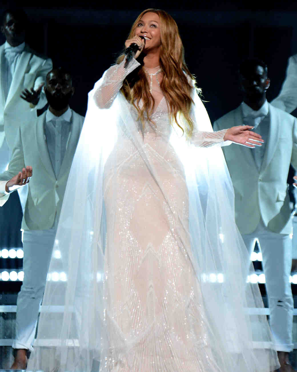 10 Times Beyoncé Wore Wedding Dresses Just Because | Martha Stewart ...
