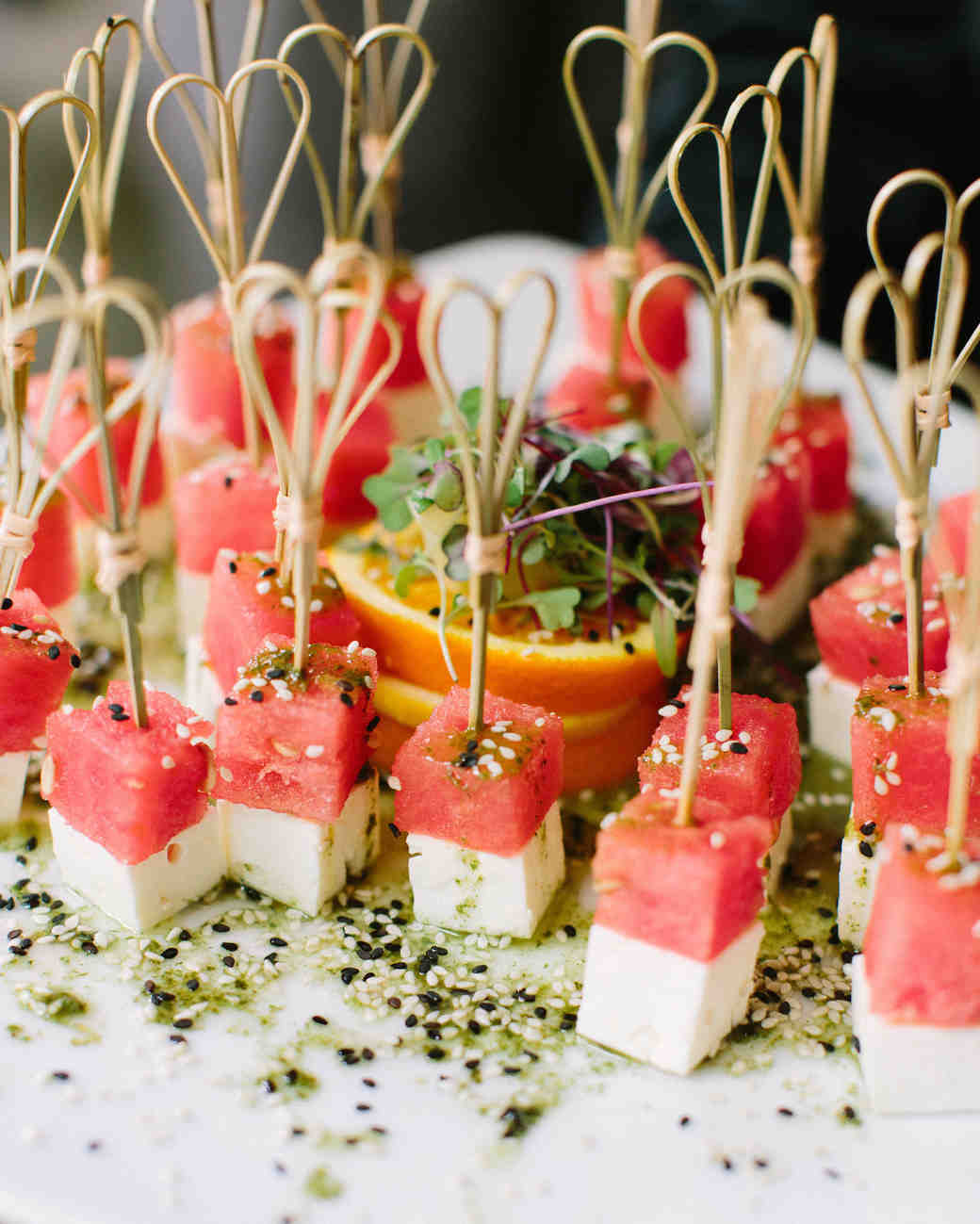 Wedding Finger Foods: 20 Delicious Bites To Serve At Your Bridal Shower