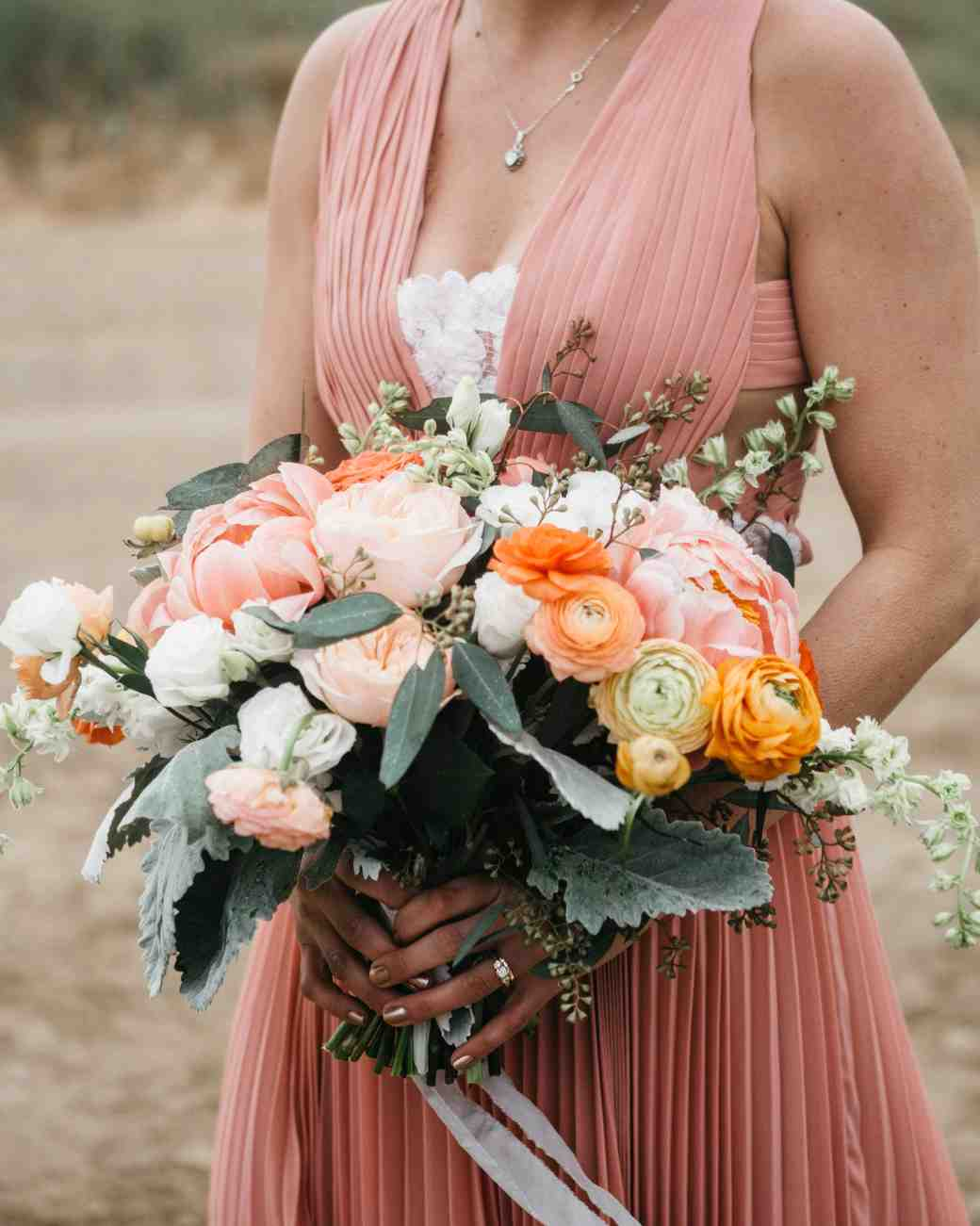 large pink bouquet