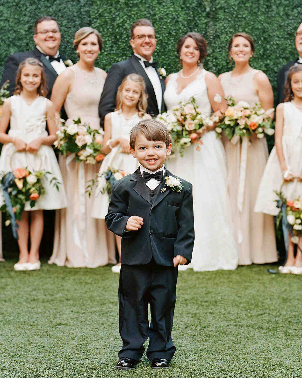 5df2e3edcc56 Dapper Ring Bearers Who Completely Stole Our Hearts