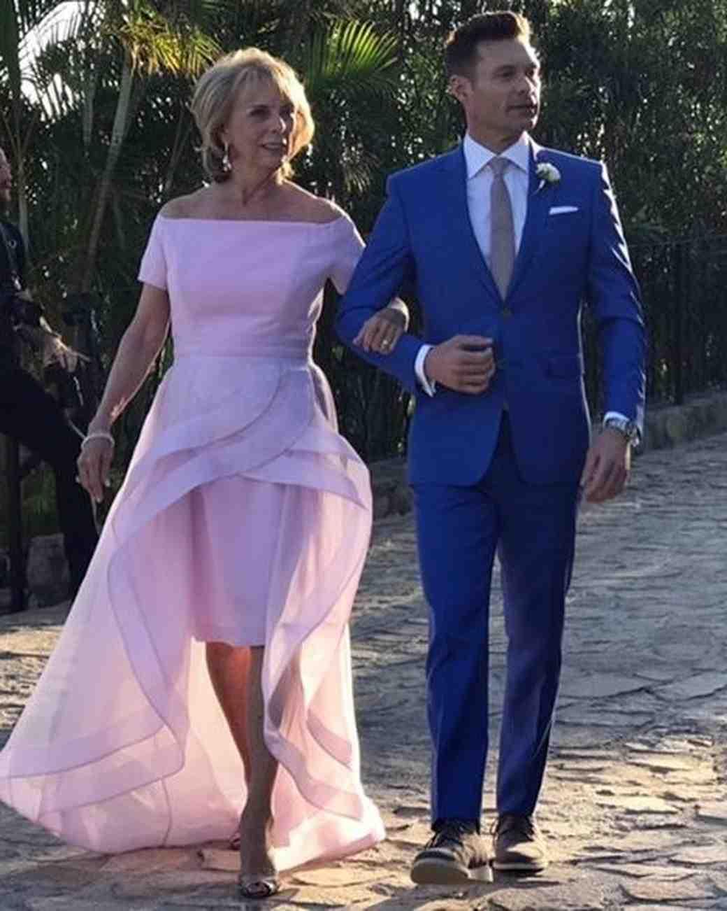 Constance Seacrest with Ryan Seacrest