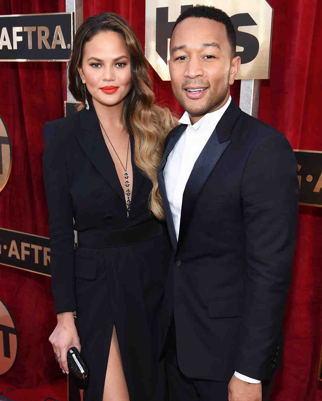 Chrissy Teigen John Legend SAG Awards 2017