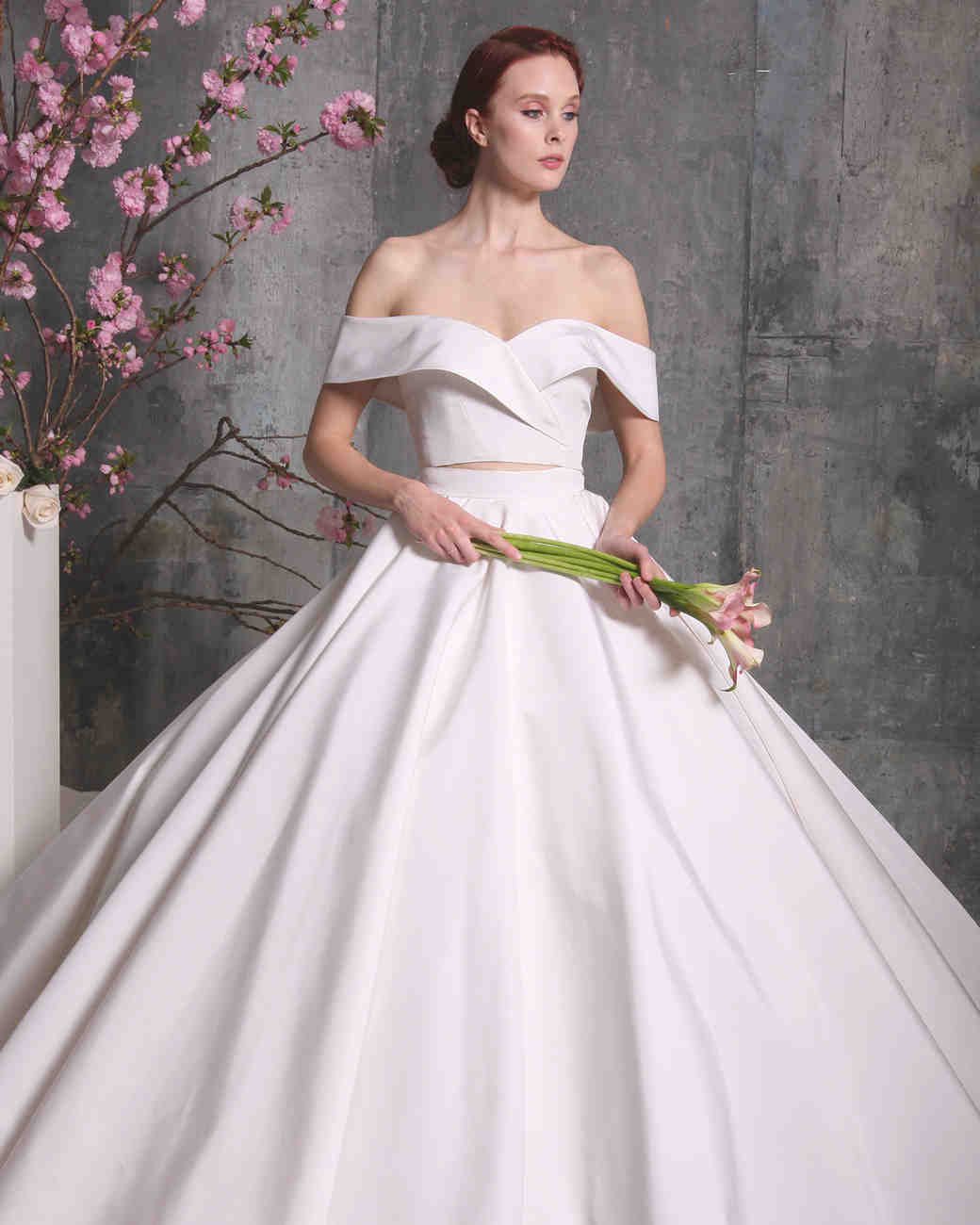Wedding Gowns: 50 Two-Piece Wedding Dresses