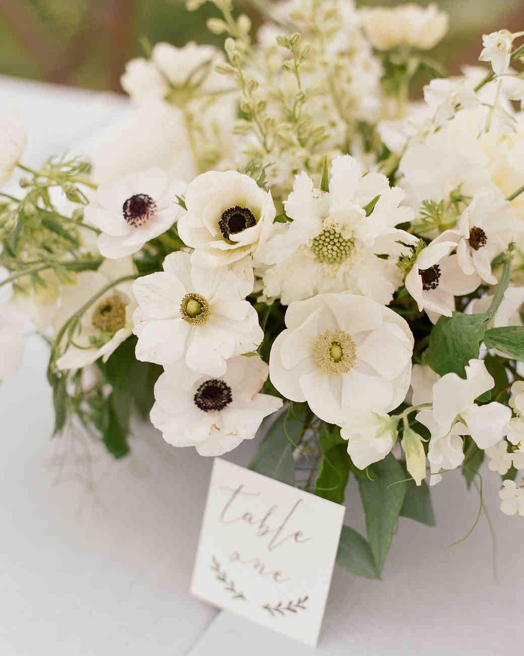 Colby John Wedding centerpiece