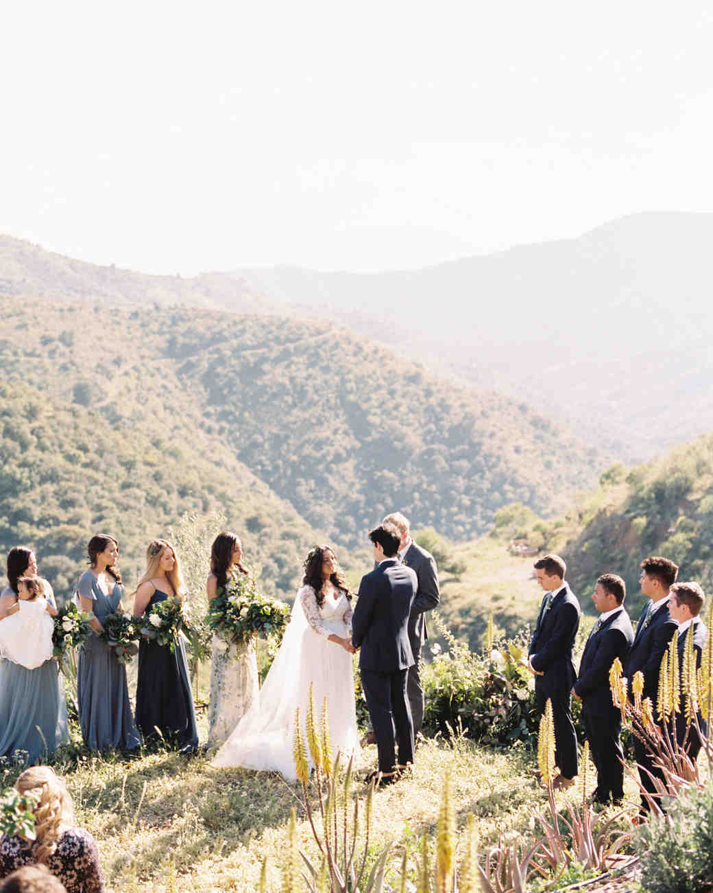 daphne jack wedding spain ceremony on mountains