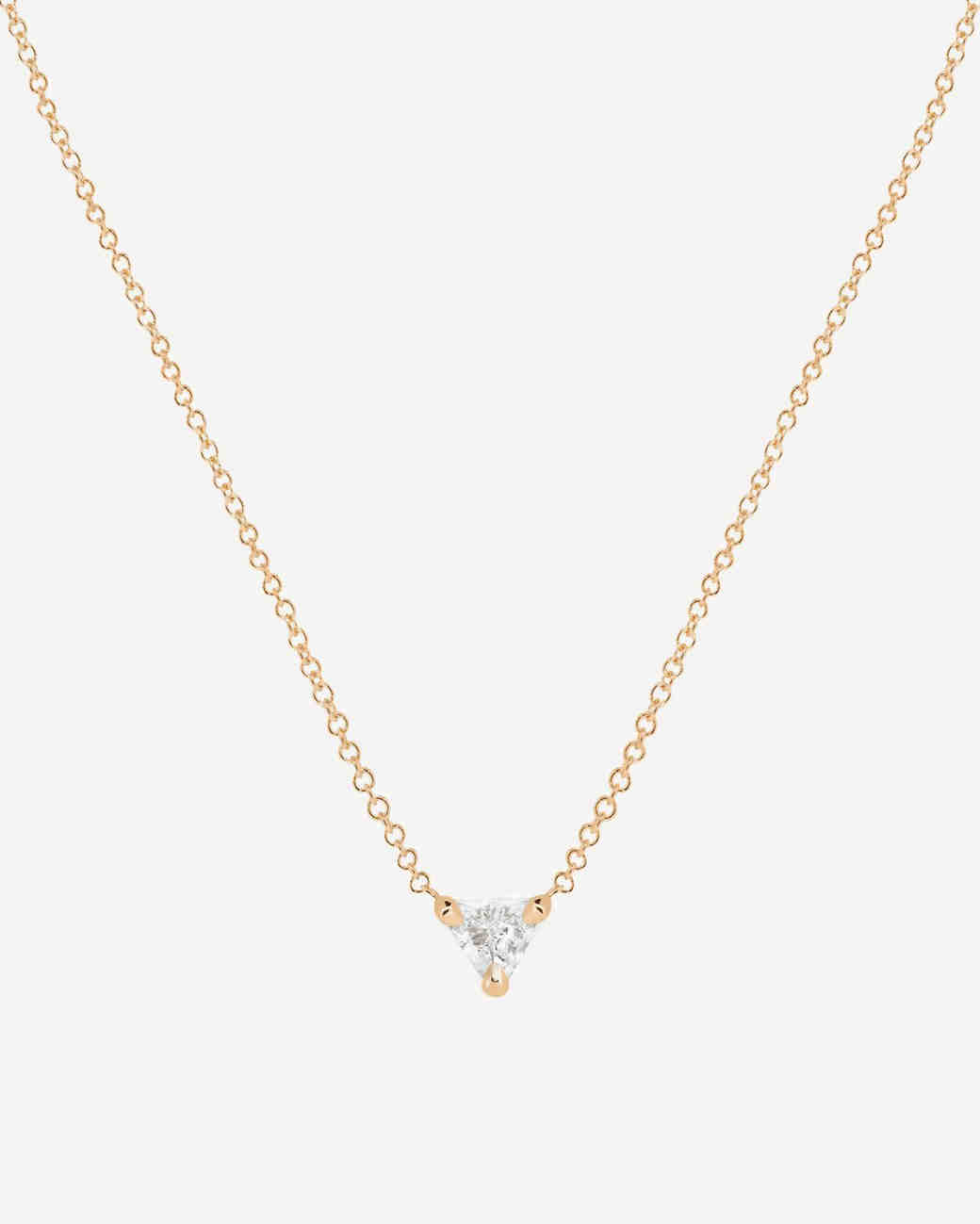 40 delicate necklaces to wear on your wedding day martha stewart pendant necklace junglespirit Images