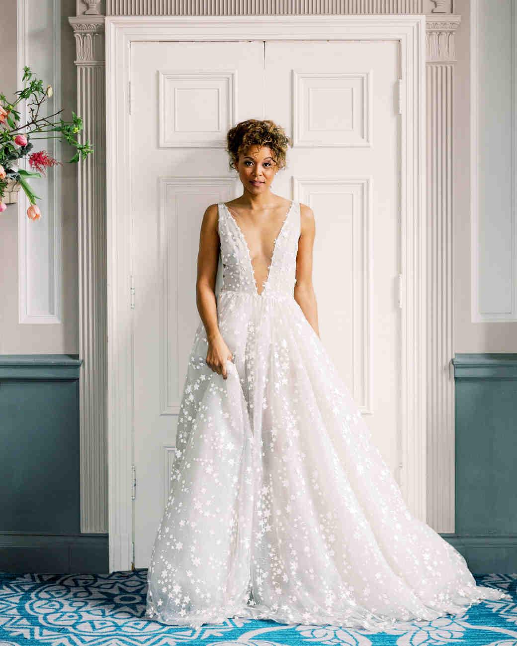 destination wedding dress deep v sleeveless embellished