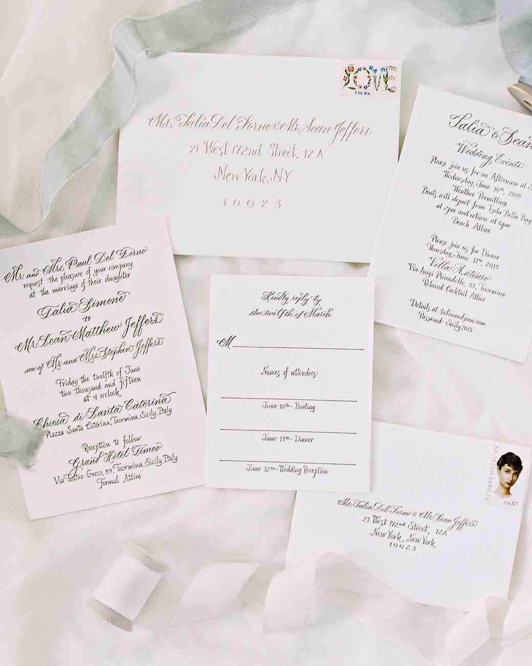 This classic wedding in italy began with an unforgettable entrance wedding invitations monicamarmolfo Image collections