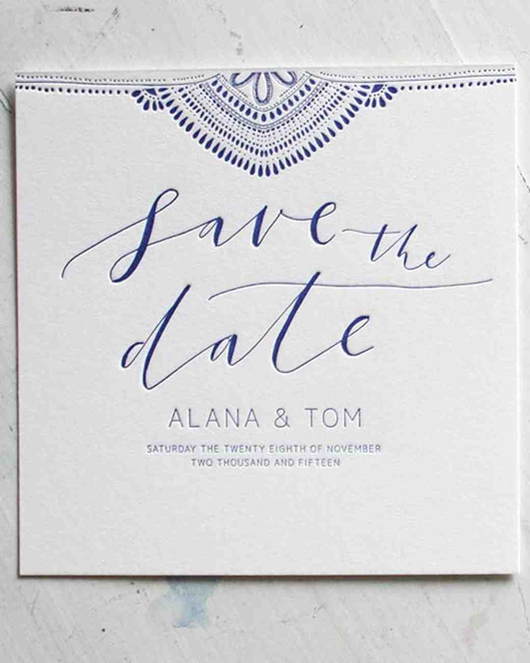 32 destination wedding save the dates martha stewart weddings