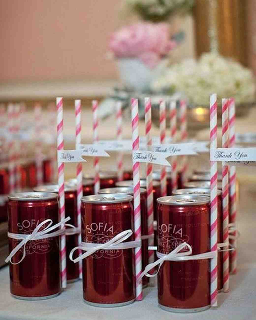 soda edible wedding favors