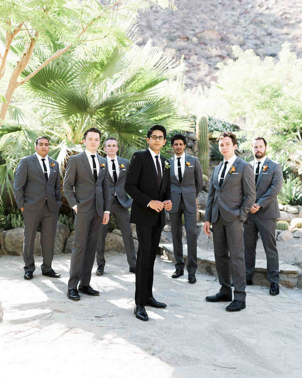 emily adhir wedding groomsmen