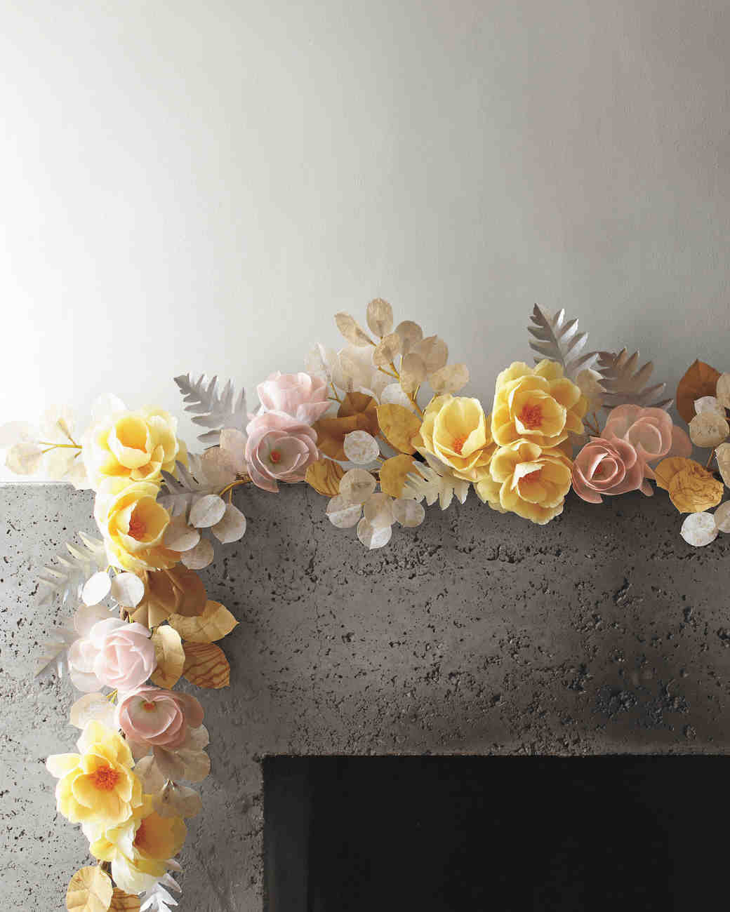 How To Make Paper Flowers Martha Stewart Weddings