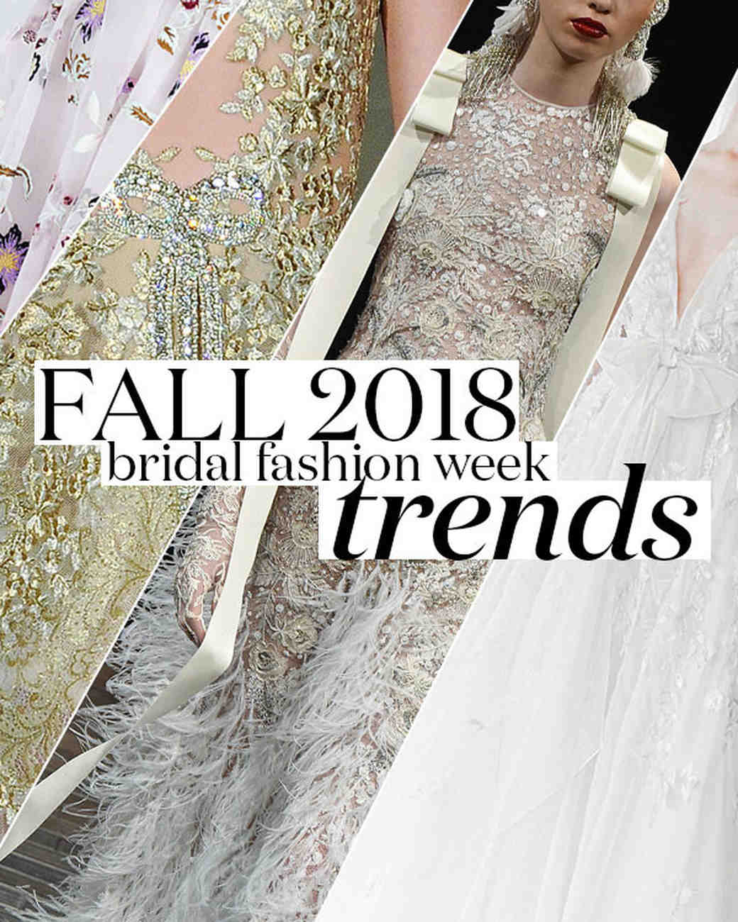 Wedding Dress Styles and Trends 2018