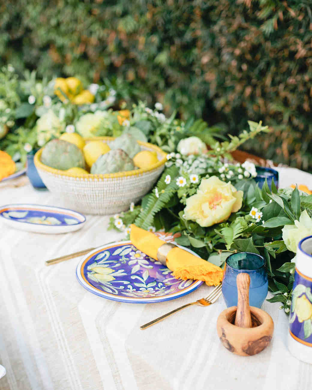 22 Wedding Centerpieces Bursting With Fruits And Vegetables Martha