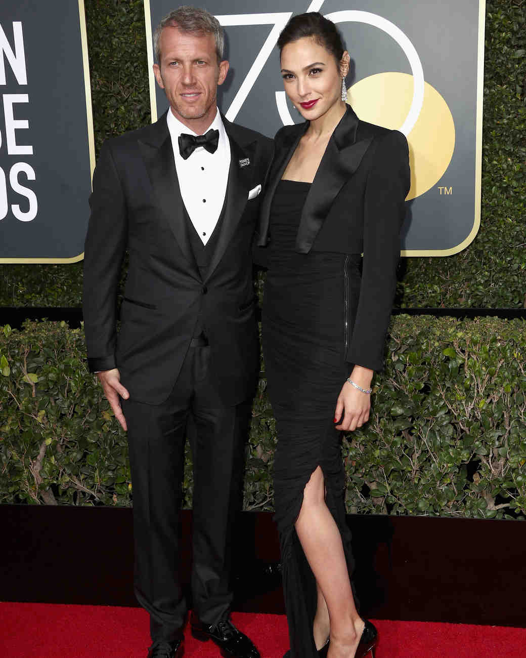 Gal Gadot and Yaron Versano 2018 Golden Globes