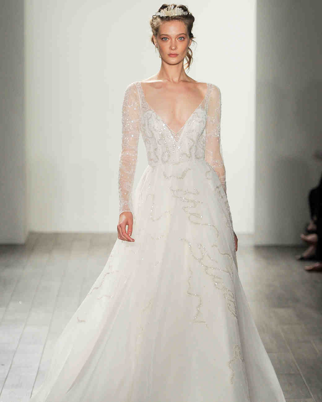 Hayley Paige Fall 2017 Wedding Dress Collection | Martha Stewart ...