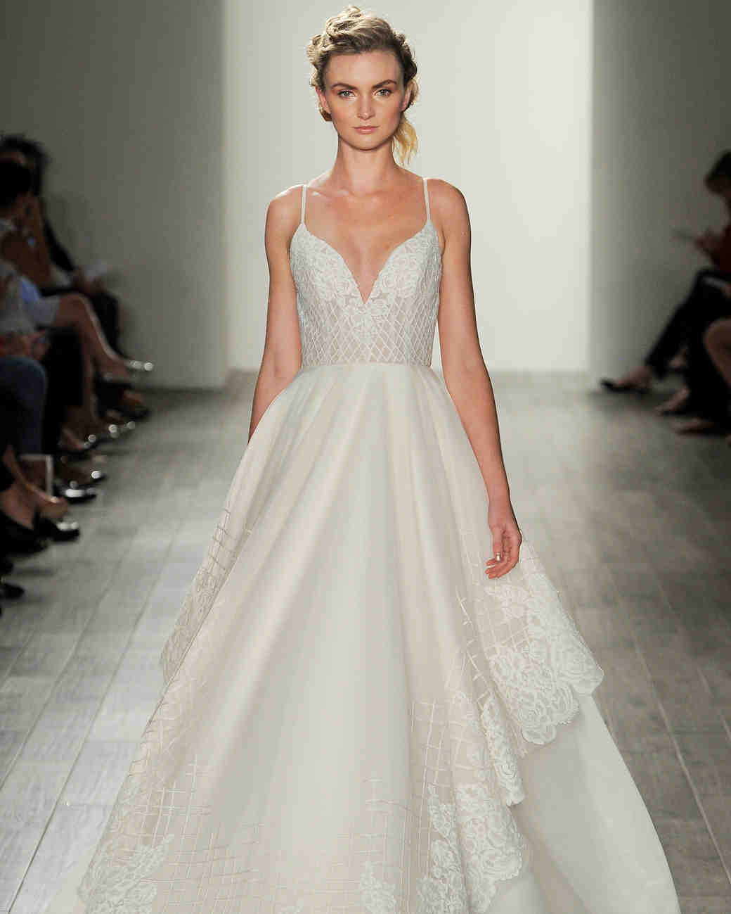 Hayley paige fall 2017 wedding dress collection martha for Top designer wedding dresses 2017