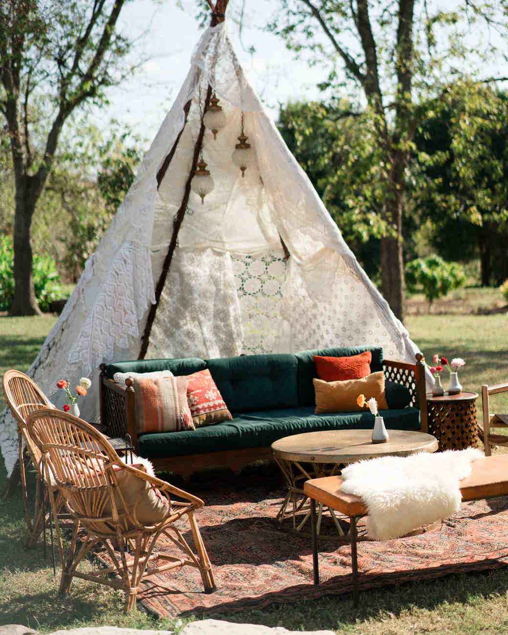 hayleigh corey wedding lounge teepee