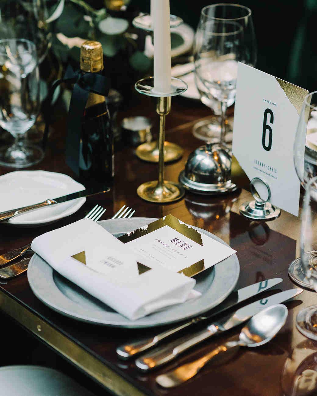 johnny chris wedding tabletop