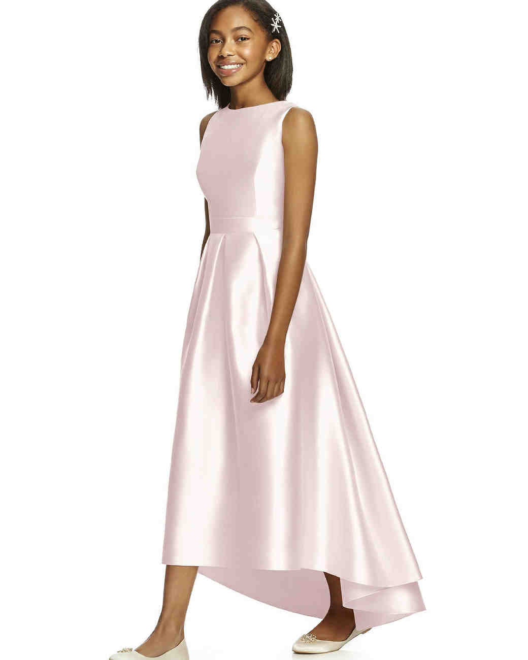 Dessy Collection Sateen Twill Dress