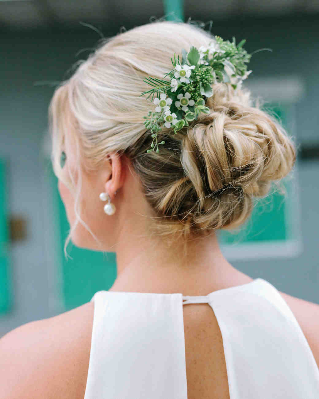 kate austin wedding flowercomb hair
