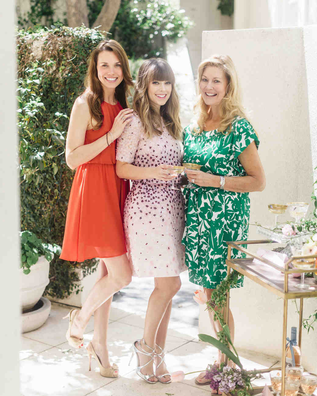 Bridal shower etiquette you need to know martha stewart for Wedding dresses for invited guests