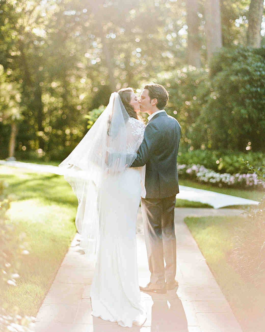 melissa michael bride groom kiss