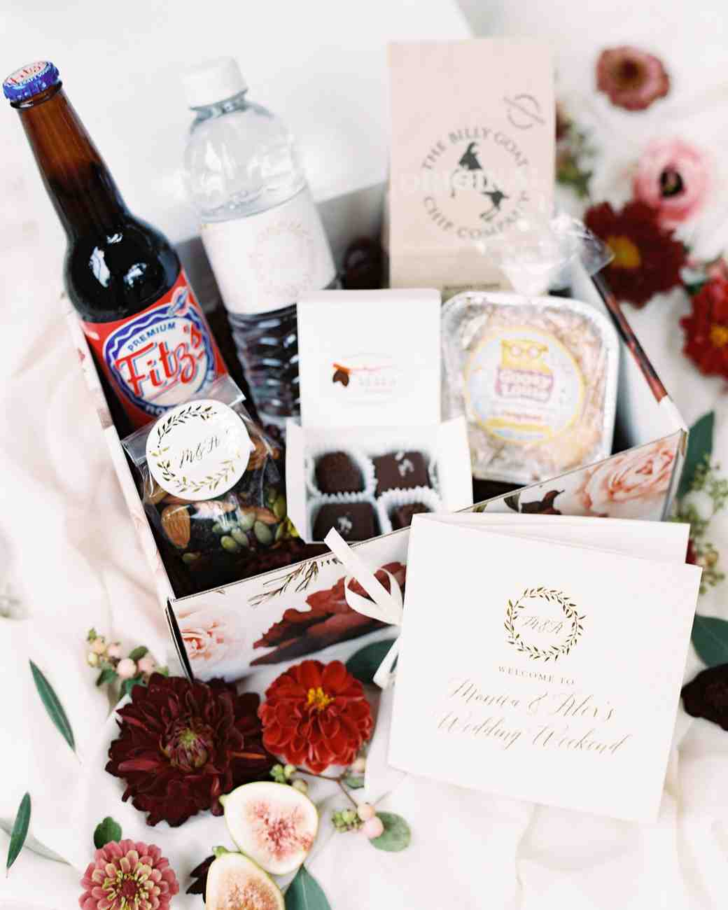 wedding welcome box