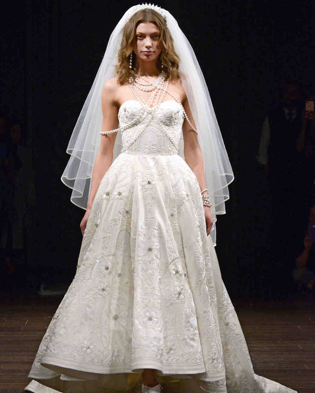 naeem khan sweetheart wedding dress spring 2018