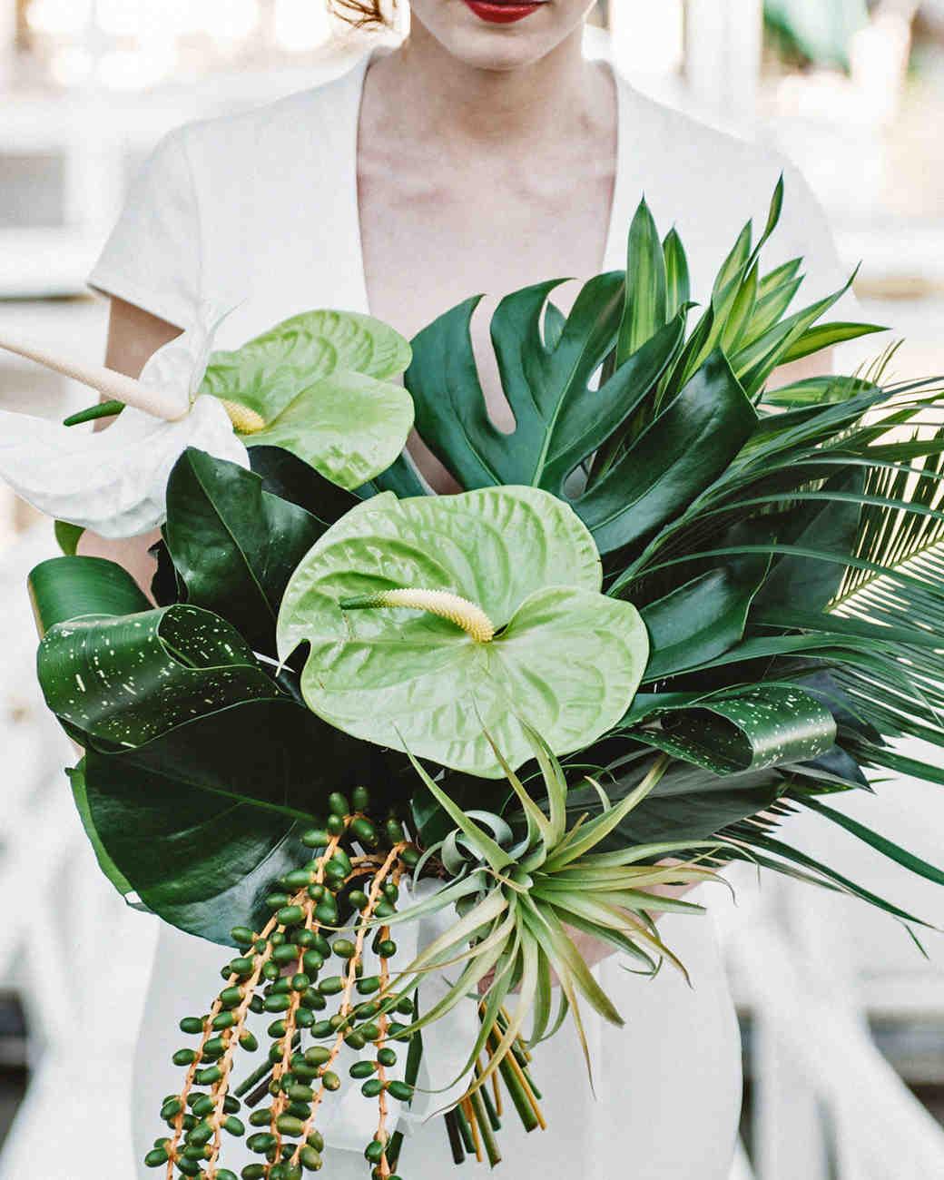 Unique Non Floral Wedding Bouquet Ideas