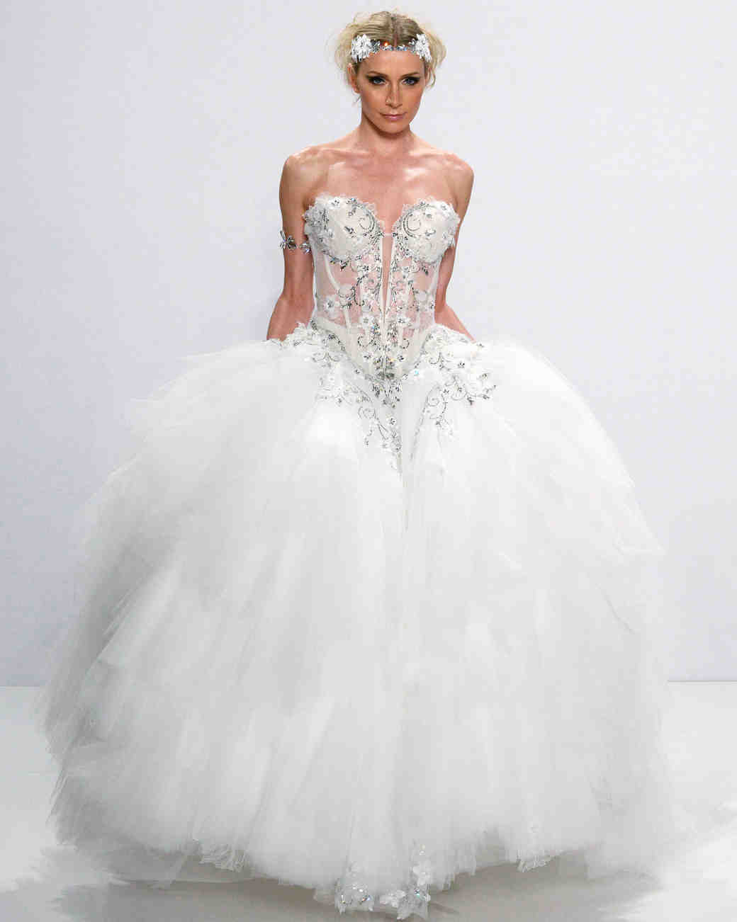 Pnina Tornai Fall 2017 Wedding Dress Collection Martha