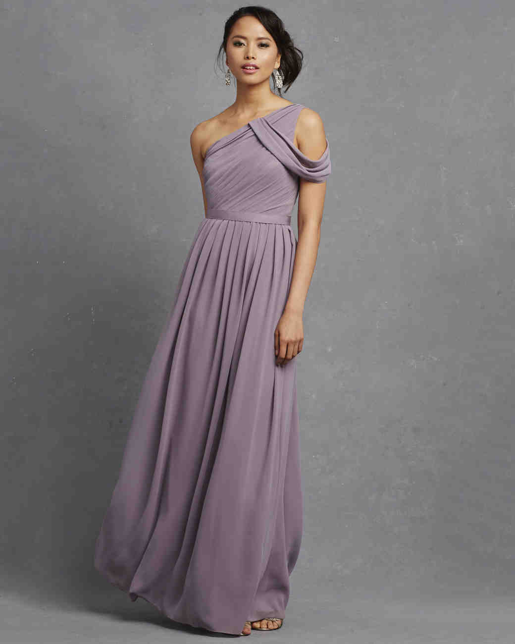 Purple Bridesmaid Dresses | Martha Stewart Weddings