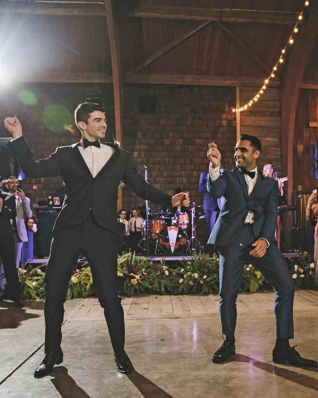 sanjay steven wedding dancing