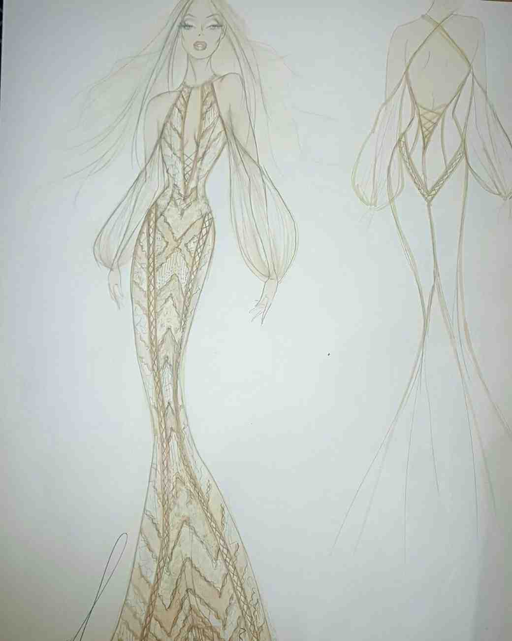 Spring 2018 BFW Sketches Galia Lahav