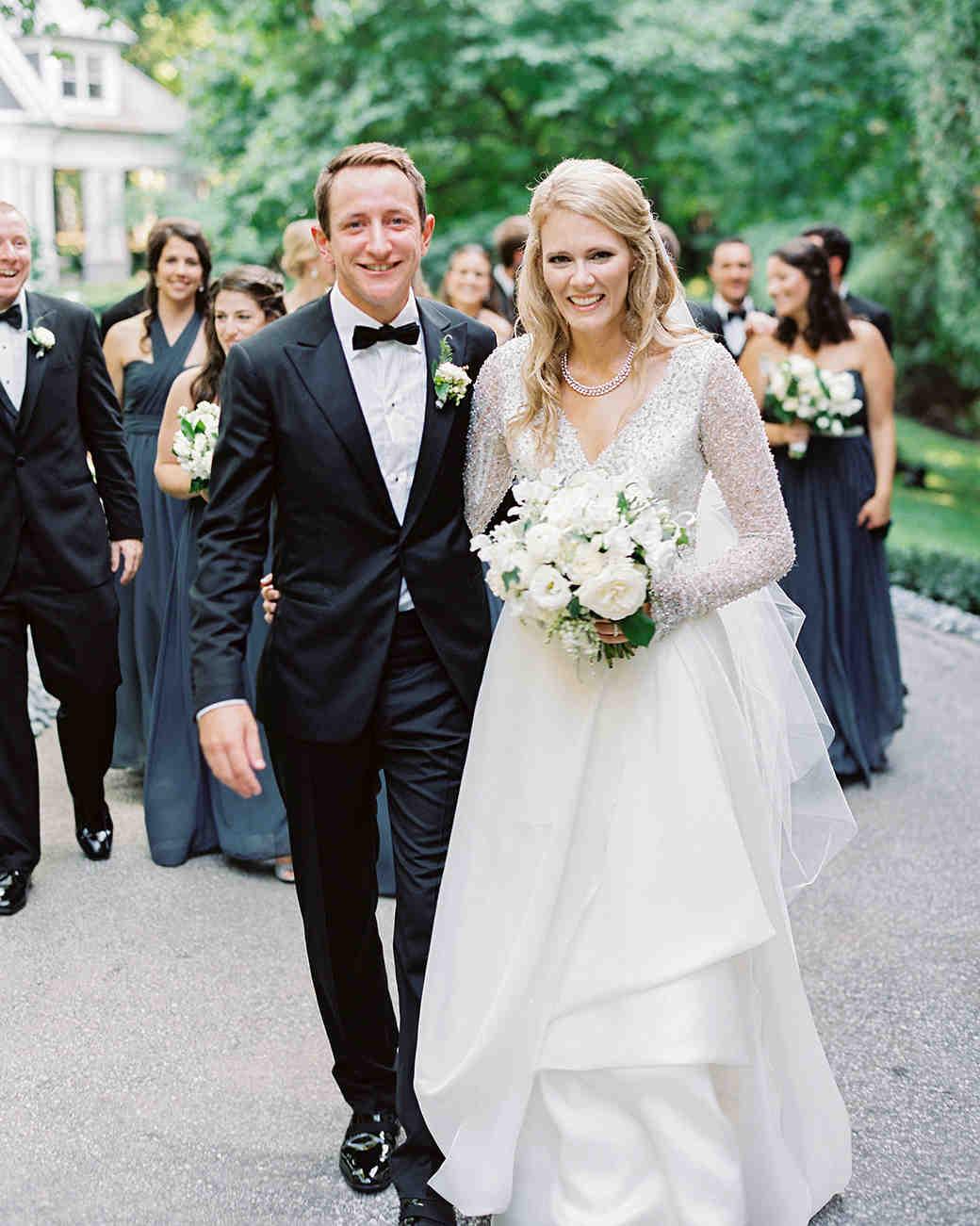 stephanie matt wedding post-ceremony