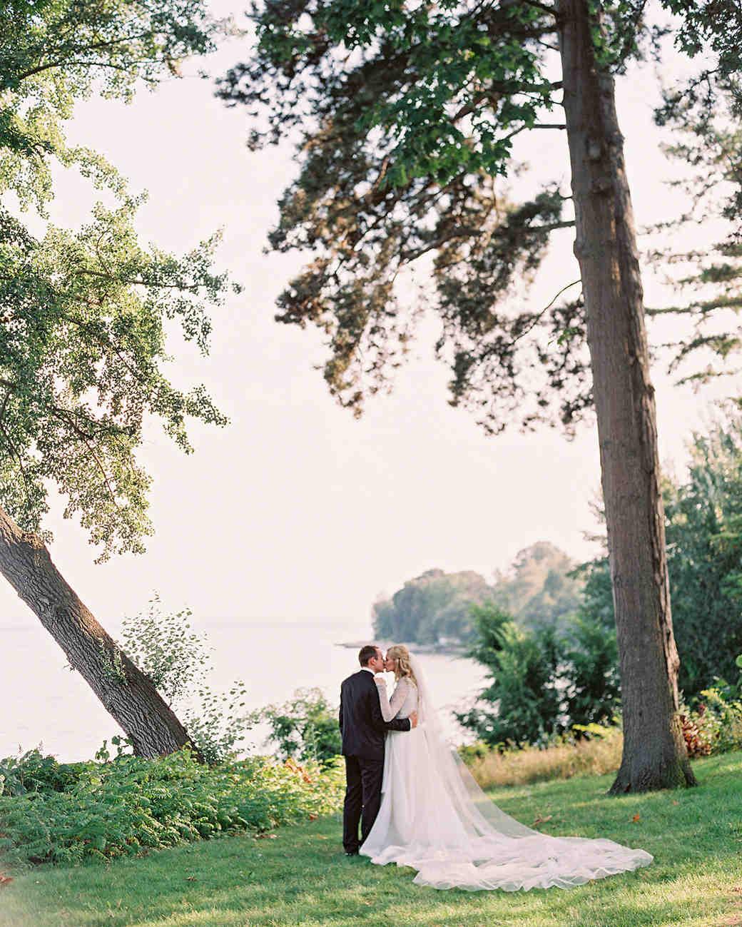 stephanie matt waterfront kiss