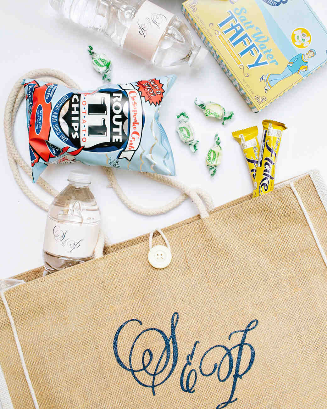stephanie philip wedding welcome bag