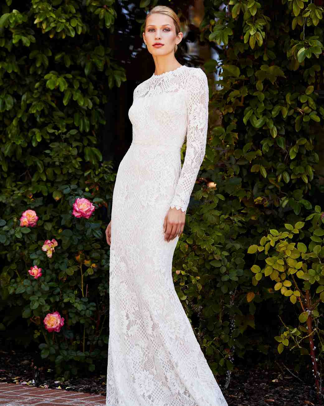 Wedding dresses with long sleeves 2018 nba