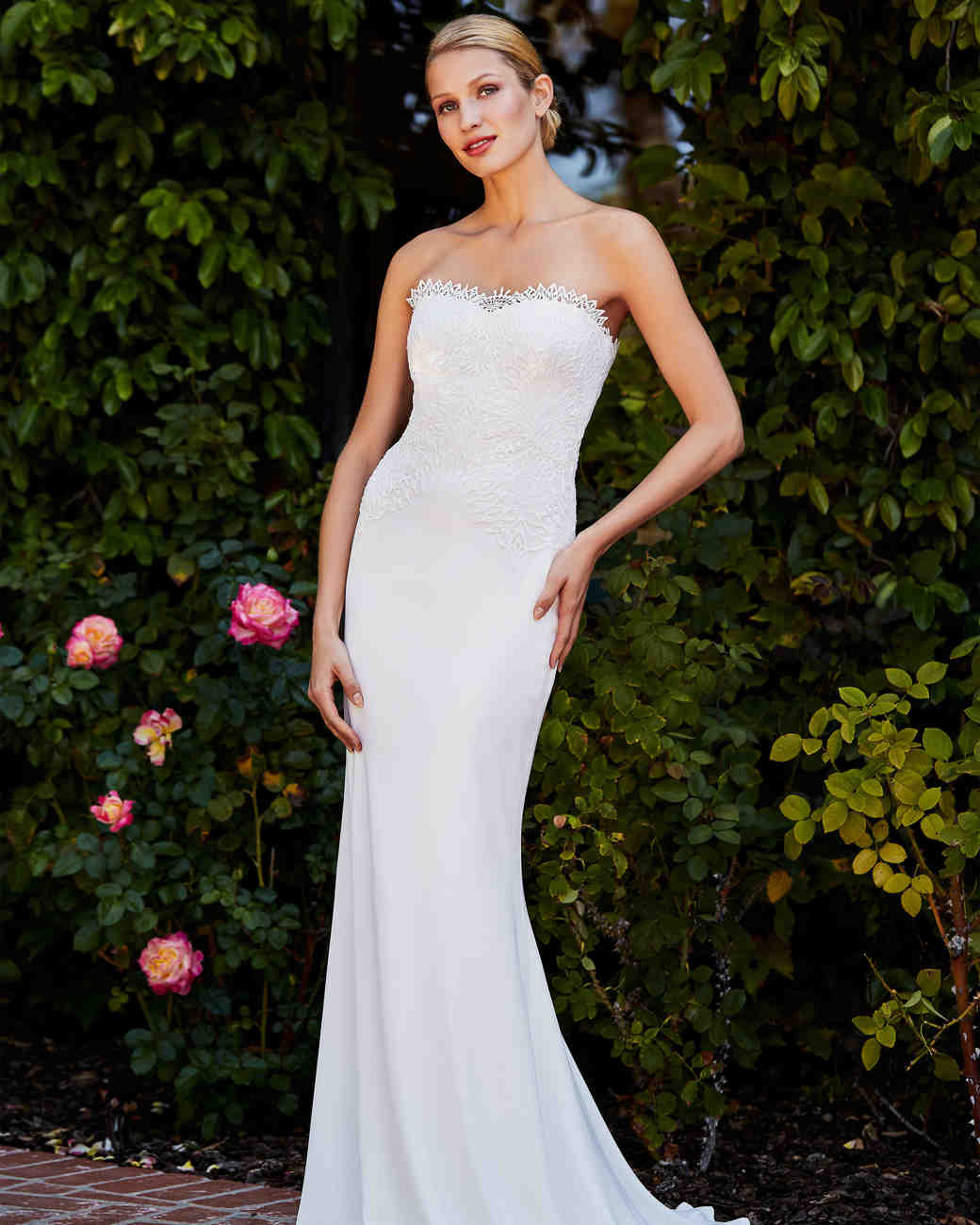 tadashi shoji wedding dress fall 2018 sleeveless lace