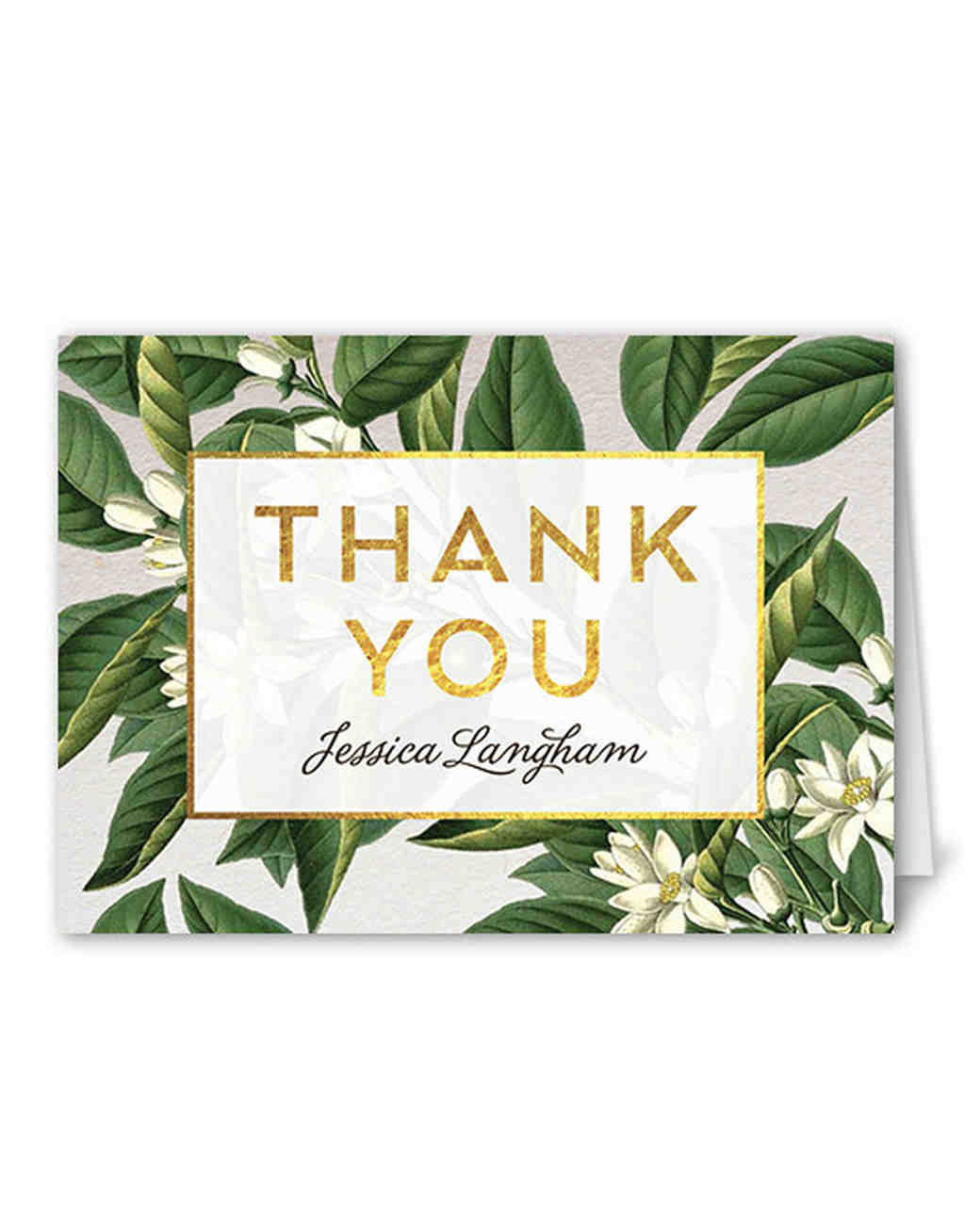 thank you notes shutterfly botanical dream