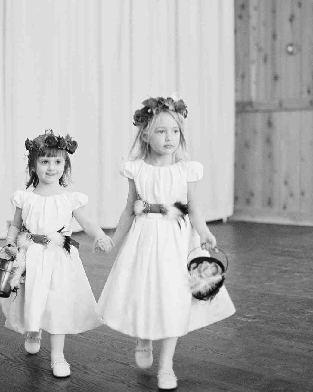 Garland Flower Girl Crowns