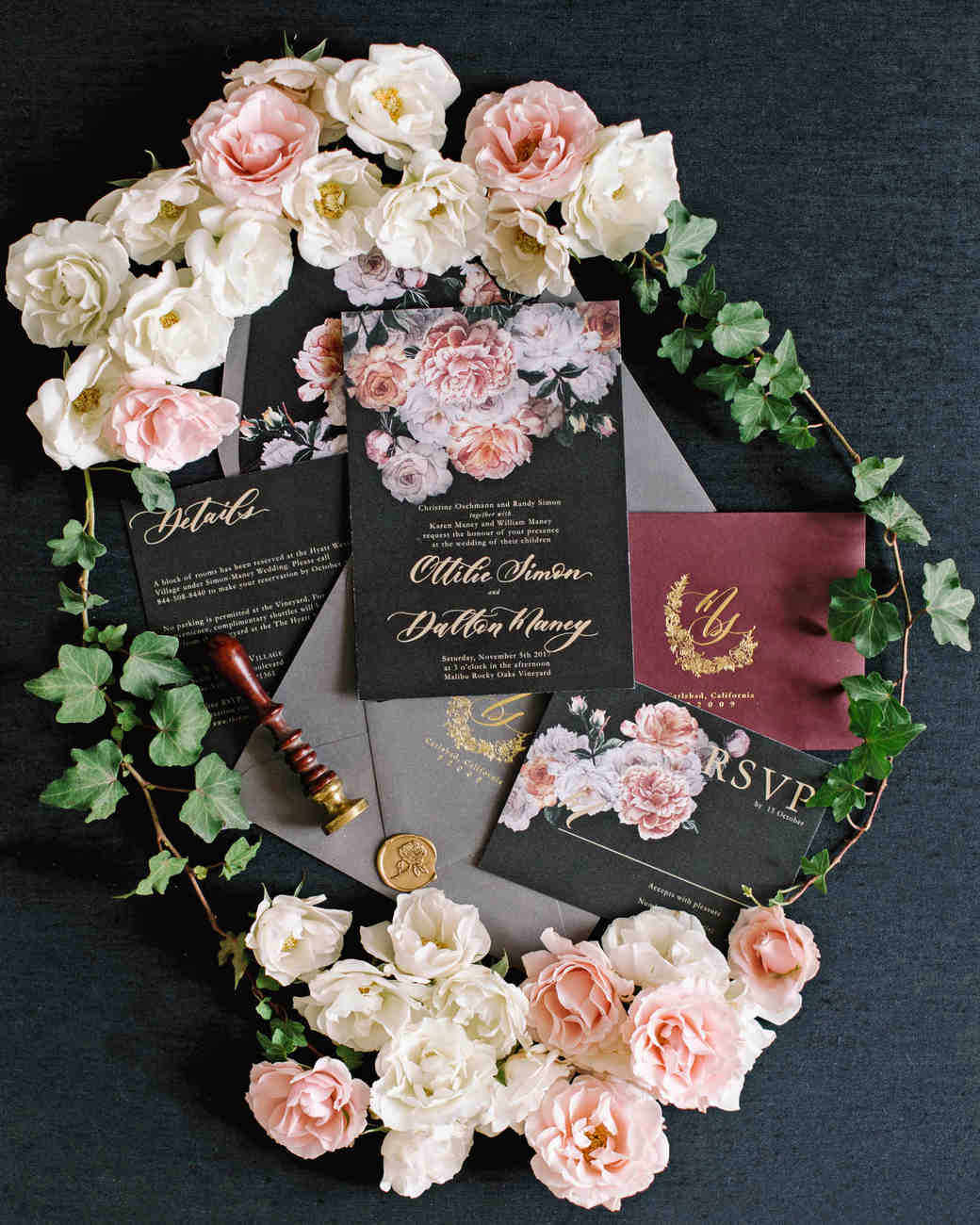 tillie dalton wedding stationery