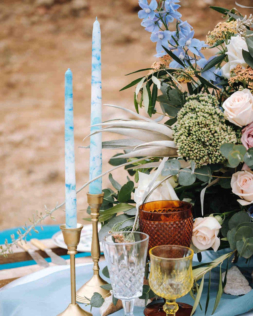 unique wedding centerpieces the shank tank