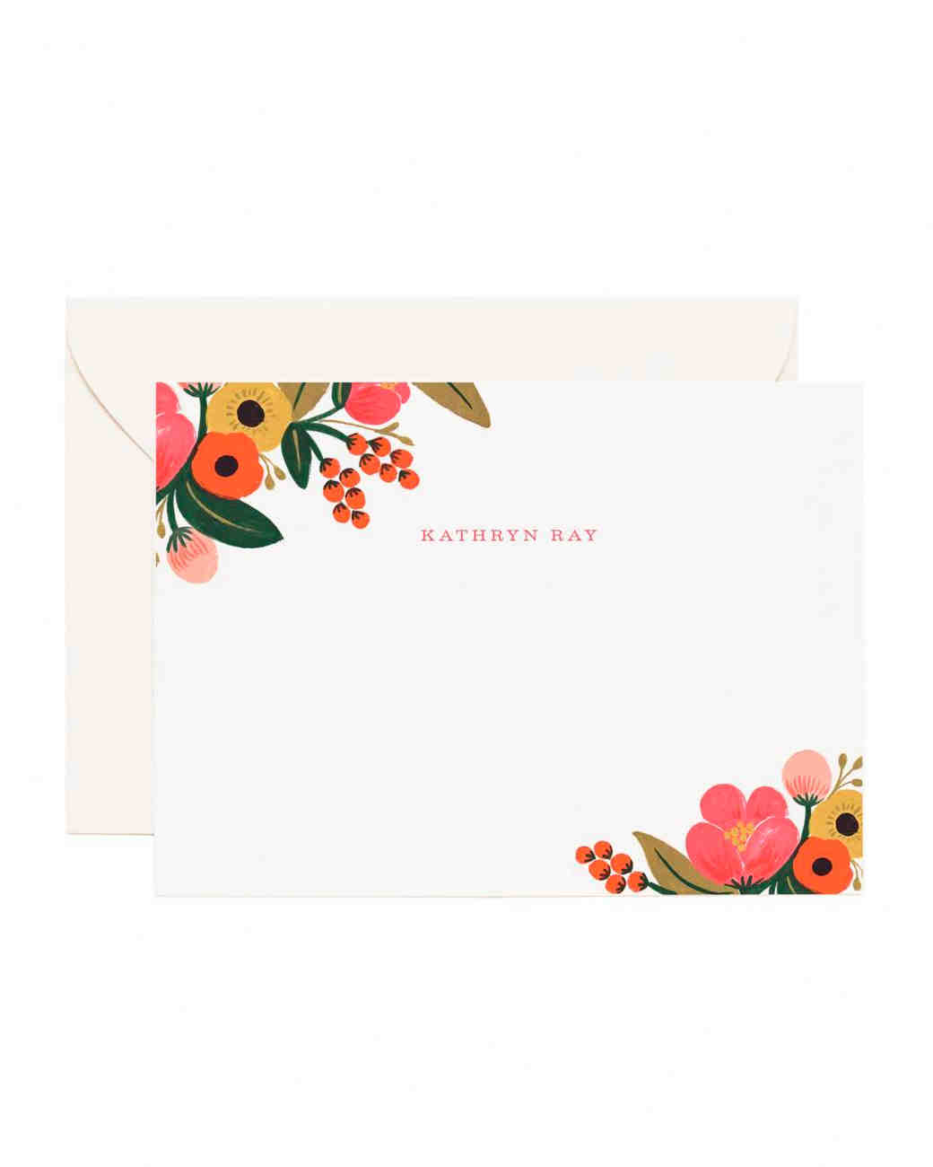 rifle paper co. note card