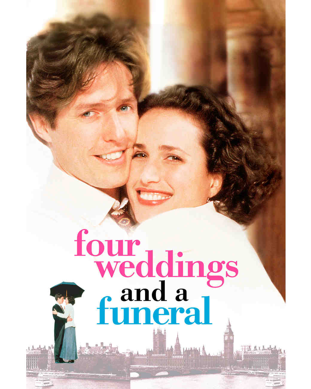 """Four Weddings and a Funeral"" promo"