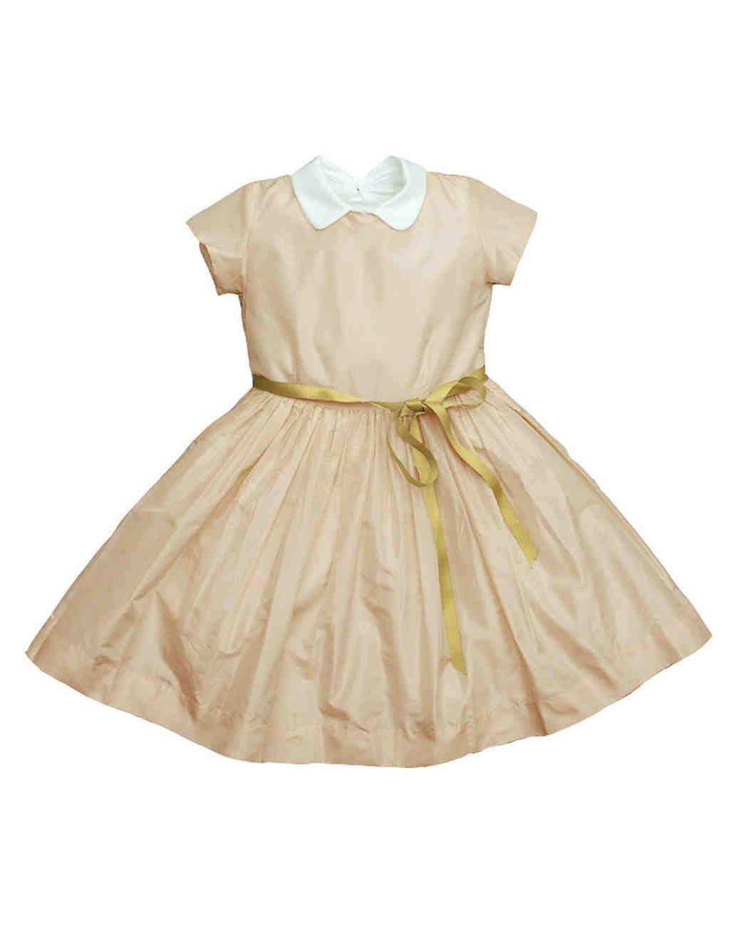 yellow collar dress