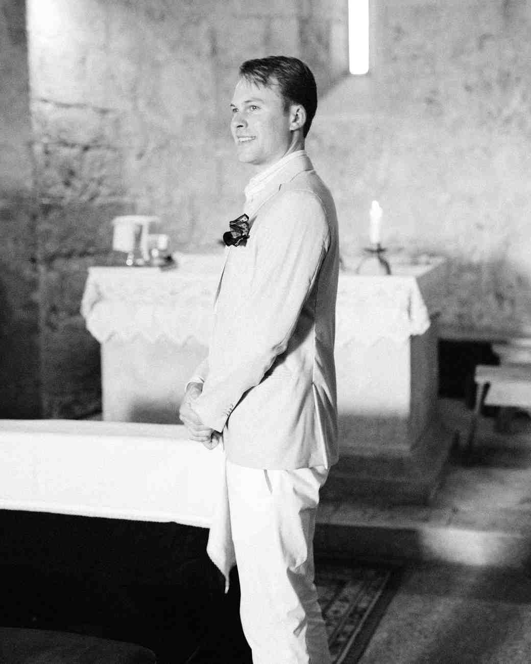 alexis zach wedding italy groom black white