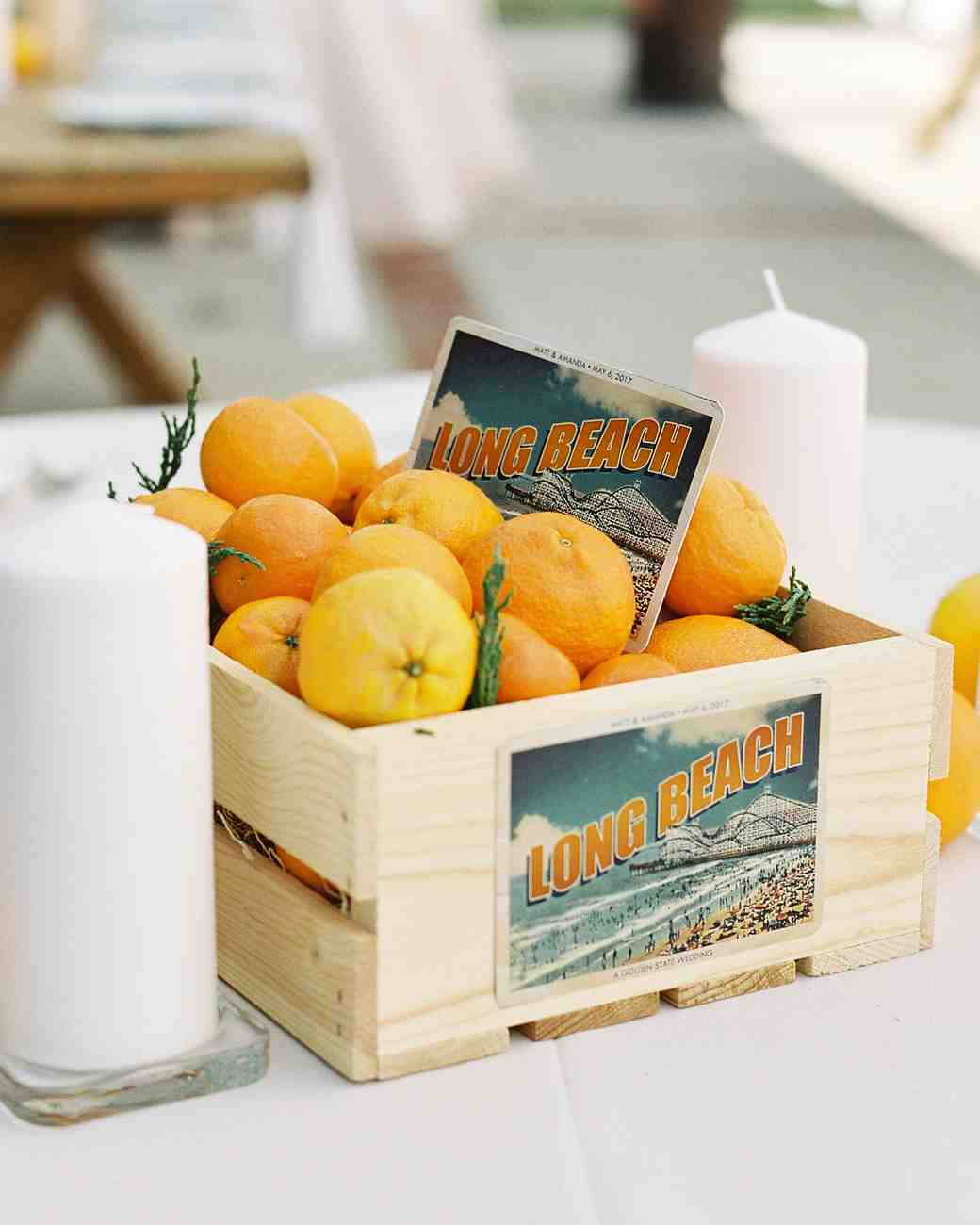 oranges centerpiece